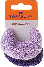 Düfte, Parfümerie und Kosmetik Haargummis lila 2 St. - Top Choice