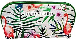 Düfte, Parfümerie und Kosmetik Kosmetiktasche Dschungelblumen - Institut Karite Jungle Flowers Big Pouch