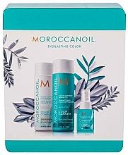 Haarpflegeset - Moroccanoil Color Complete Holiday Set (Shampoo 250ml + Conditioner 250ml + Haarspray 50ml) — Bild N2