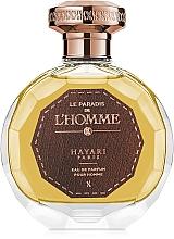 Düfte, Parfümerie und Kosmetik Hayari Parfums Le Paradis de L`Homme - Eau de Parfum