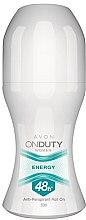 Düfte, Parfümerie und Kosmetik Deo Roll-on Antitranspirant - Avon On Duty Energy 48H Anti-persrirant
