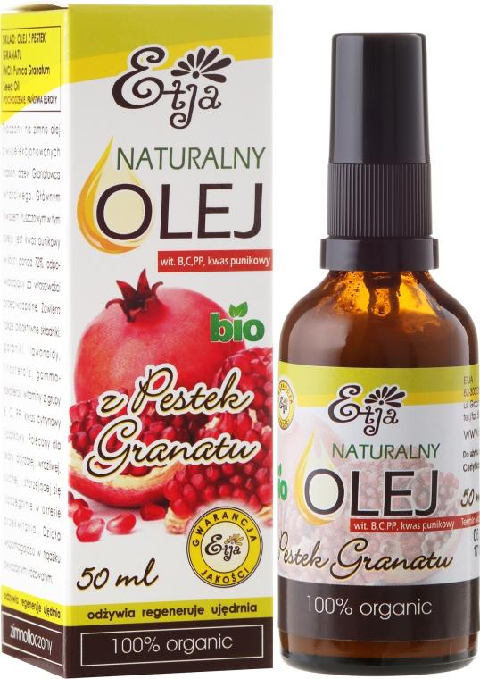 Natürliches Granatapfelkernenöl - Etja Bio — Bild N1