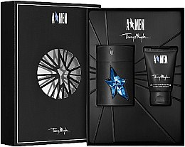 Düfte, Parfümerie und Kosmetik Thierry Mugler A Men - Kosmetikset (Eau de Toilette/ 50ml + Duschgel/50ml)