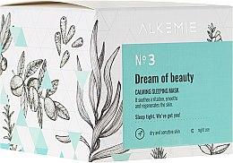 Düfte, Parfümerie und Kosmetik Nachtgesichtsmaske mit Honig - Alkemie Dream Of Beauty Calming Sleeping Mask