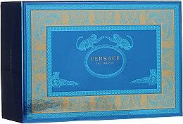 Düfte, Parfümerie und Kosmetik Versace Man Eau Fraiche - Duftset (Eau de Toilette 100ml + Mini 10ml + Kosmetiktasche)