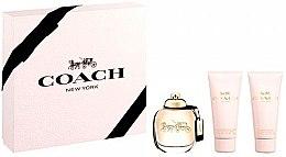 Düfte, Parfümerie und Kosmetik Coach New York Eau De Parfum - Duftset (Eau de Parfum 90ml + Körperlotion 100ml + Duschgel 100ml)