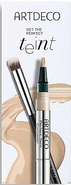 Make-up Set - Artdeco Get The Perfect Teint (Concealer 1.8ml + Pinsel 1St.) — Bild N1