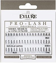 Düfte, Parfümerie und Kosmetik Wimpernbüschel-Set - Eylure Individuals Pro-Lash Short, Medium & Long Lenth