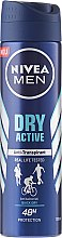 Düfte, Parfümerie und Kosmetik Deospray Antitranspirant - Nivea Men Dry Active Deodorant