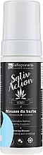 Düfte, Parfümerie und Kosmetik Feuchtigkeitsspendende und beruhigende Rasiermousse - La Saponaria Sativ Action Shaving Mousse