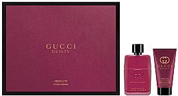 Düfte, Parfümerie und Kosmetik Gucci Guilty Absolute Pour Femme - Duftset (Eau de Parfum/50ml + Körperlotion/50ml)