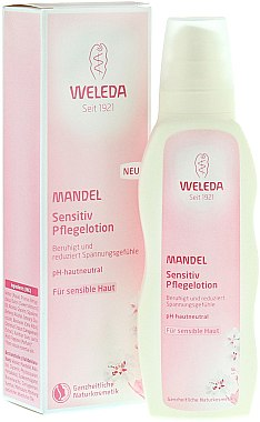 Beruhigende Körperlotion mit Mandelöl für empfindliche Haut - Weleda Mandel Sensitiv Pflegelotion — Bild N3