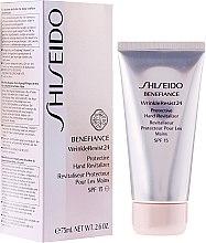 Düfte, Parfümerie und Kosmetik Anti-Aging Handcreme - Shiseido Benefiance WrinkleResist 24 Protective Hand Revitalizer