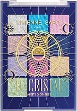 Düfte, Parfümerie und Kosmetik Lidschattenpalette - Vivienne Sabo Le Cristal Eyeshadow Palette