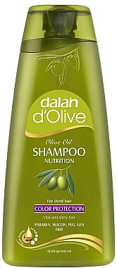 Shampoo für gefärbtes Haar mit Olivenöl - Dalan D'Olive Color Protection Shampoo — Bild N1
