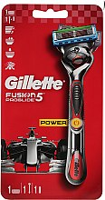 Düfte, Parfümerie und Kosmetik Rasierer mit 1 Ersatzklinge rot - Gillette Fusion ProGlide Power