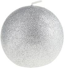 Düfte, Parfümerie und Kosmetik Dekorative Kerze in Kugelform silbern 8 cm - Artman Glamour