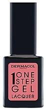 Düfte, Parfümerie und Kosmetik Nagellack - Dermacol One Step Gel Lacquer