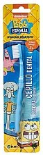 Düfte, Parfümerie und Kosmetik Kinderzahnbürste 2+ Jahre Sponge Bob blau - Kin Kid's Toothbrush Sponge Bob