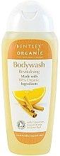 Düfte, Parfümerie und Kosmetik Revitalisierendes Duschgel mit Zimt und Orange - Bentley Organic Body Care Revitalising Bodywash