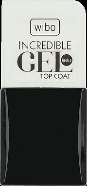 Nagelüberlack - Wibo Incredible Gel Top Coat — Bild N1