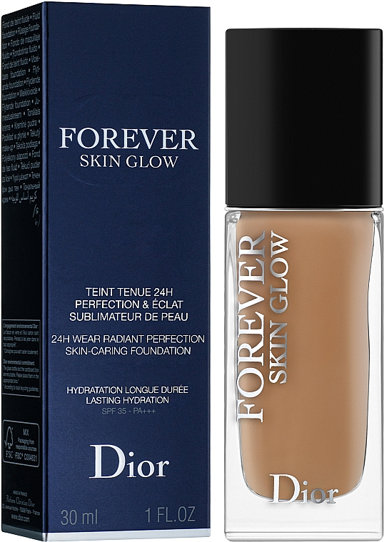 Flüssige Foundation - Dior Diorskin Forever Skin Glow Foundation