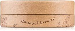 Bronzepuder mit Bio-Aprikosenkernöl und Bio-Kakaobutter gegen die ersten Fältchen - Couleur Caramel Cooked Powder — Bild N2
