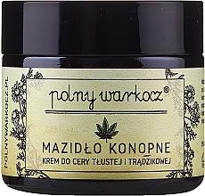 Düfte, Parfümerie und Kosmetik Gesichtscreme mit Hanf für fettige Haut - Polny Warkocz