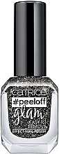Düfte, Parfümerie und Kosmetik Peel-off-Nagellack - Catrice Peeloff Glam Easy To Remove Effect Nail Polish
