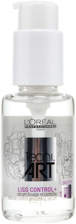 Intensiv glättendes Haarserum mit Anti-Frizz-Schutz - L'Oreal Professionnel Tecni.art Liss Control Plus — Bild N1
