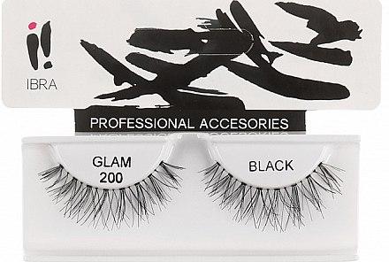 Künstliche Wimpern - Ibra Eyelash Glam 200 — Bild N1