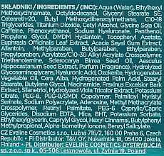 Anti-Falten Augencreme - Eveline Cosmetics Hyaluron Expert Anti-Wrinkle Eye Cream — Bild N2