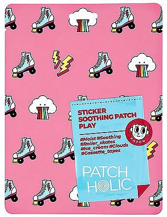 Beruhigende Gesichtspatches mit Aloe Vera-Extrakt - Patch Holic Sticker Soothing Patch Play — Bild N1