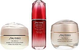 Düfte, Parfümerie und Kosmetik Gesichtspflegeset - Shiseido Benefiance (Gesichtskonzentrat 10ml + Gesichtscreme 15ml + Augencreme 15ml)