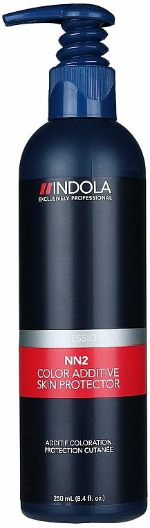 Schutzlotion für die Kopfhaut gegen Irritationen und Anfärbungen - Indola Profession NN2 Color Additive Skin Protector — Bild N1