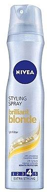 """Haarlack """"Brilliant Blonde"""" Extra starker Halt - Nivea Styling Spray — Bild N1"""