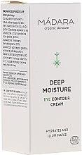 Düfte, Parfümerie und Kosmetik Feuchtigkeitsspendende Augenkonturcreme - Madara Cosmetics Eye Contour Cream
