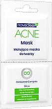 Düfte, Parfümerie und Kosmetik Mattierende Gesichtsmaske für fettige und zu Akne neigende Haut - Novaclear Acne Mask Oil Control Complex
