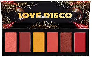 Rouge-Palette - NYX Professional Makeup Love Lust Disco Sweet Cheeks Blush Palette — Bild N1