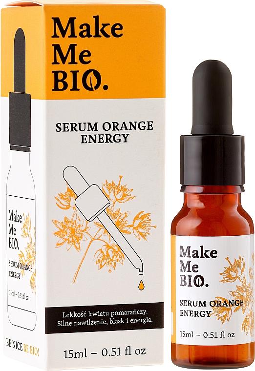 Gesichtsserum - Make Me Bio Serum Orange Energy — Bild N2