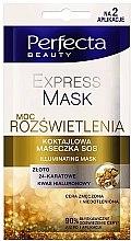 Düfte, Parfümerie und Kosmetik Gesichts- und Augenkonturmaske mit Hyaluronsäure - Perfecta Pharma Illuminating Express Mask