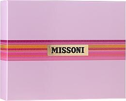 Düfte, Parfümerie und Kosmetik Missoni Missoni - Duftset (Eau de Toilette 50ml + Körperlotion 50ml + Duschgel 50ml)