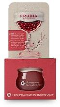 Düfte, Parfümerie und Kosmetik Feuchtigkeitsspendende und pflegende Gesichtscreme mit Granatapfelextrakt - Frudia Nutri-Moisturizing Pomegranate Cream (Mini)