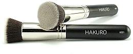 """Düfte, Parfümerie und Kosmetik Foundationpinsel """"H51"""" - Hakuro"""