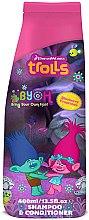 Düfte, Parfümerie und Kosmetik Shampoo und Haarspülung für Kinder - Corsair Trolls 2in1 Blueberry Shampoo&Conditioner