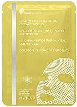 Düfte, Parfümerie und Kosmetik Energiespendende Tuchmaske aus Bemlise Stoff mit Kollagen und Q10 zur Peptidverbesserung - Timeless Truth Collagen & Q10 Perfecting Peptide Mask