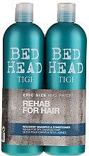 Düfte, Parfümerie und Kosmetik Haarpflegeset - Tigi Bed Head Recovery Shampoo&Conditioner (Shampoo 750ml + Conditioner 750ml)
