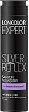 Düfte, Parfümerie und Kosmetik Anti-Gelb Shampoo für blondes, graues und weißes Haar mit Kaschmirprotein und Keratin - Loncolor Expert Silver Reflex Shampoo