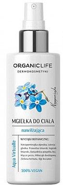 Feuchtigkeitsspendendes Körperspray mit Kräuterextrakten für trockene und empfindliche Haut - Organic Life Dermocosmetics Aqua Virtualle Body Mist — Bild N1