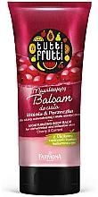 Düfte, Parfümerie und Kosmetik Feuchtigkeitsspendender Körperbalsam Kirsche und Johannisbeere - Farmona Tutti Frutti Moisturizing Body Balm Cherry & Currant